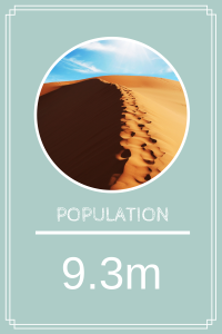 The UAE's population is estimated to be 9.3 million.